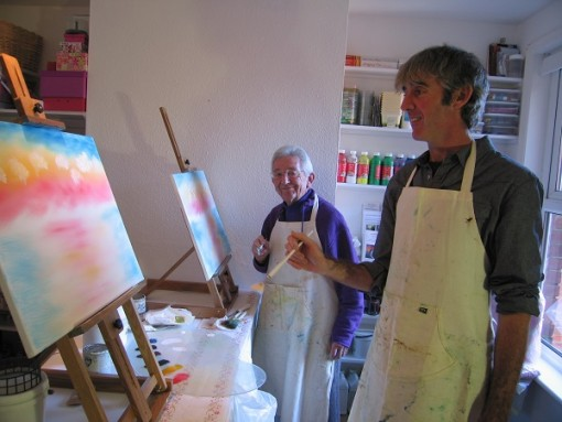 Wet-on-Wet Oil Tuition