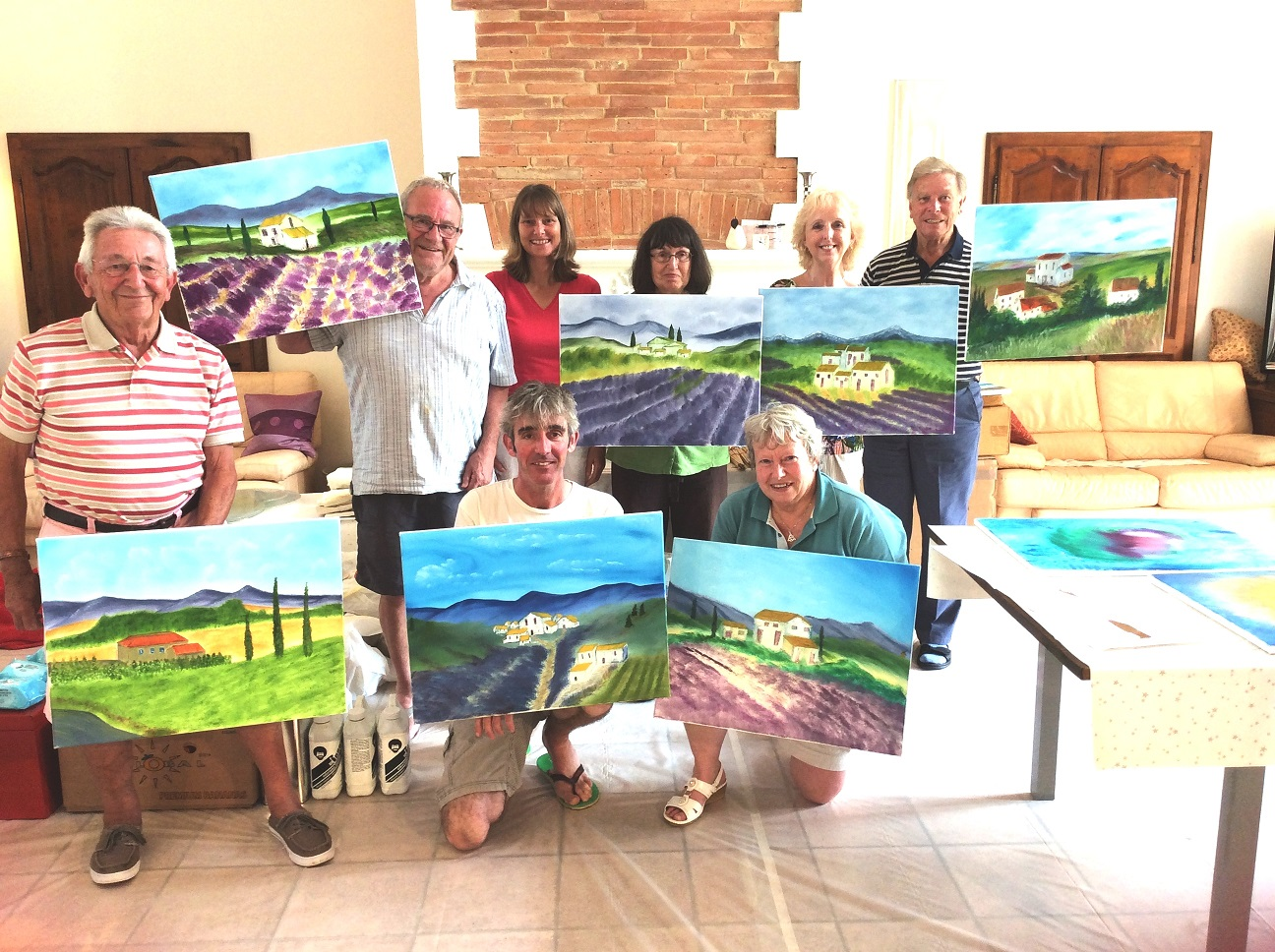 Residential Painting Holiday in Southern France