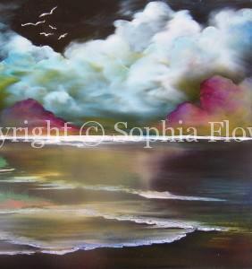 Painting by Sophia Flowers