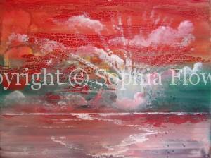 Sophia Flowers - Painting in Oil